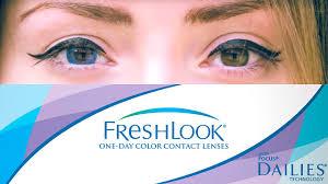Цветные линзы для карих глаз. <b>Контактные линзы Fresh look</b> ...