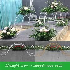 <b>New wedding props</b> big wave road lead stage <b>decor wedding</b> ...