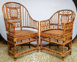 superb set of four bamboo vintage chinese chippendale chairs and two armchairs 3 chinese bamboo furniture