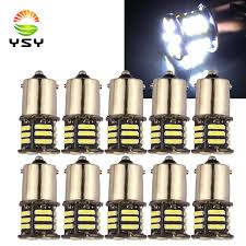 YSY <b>10X 1157 BAY15D</b> 21 SMD 7020 7014 LED P21/5W 1156 ...