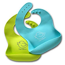 Silicone Baby Bibs Easily Wipe Clean - Comfortable ... - Amazon.com
