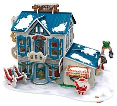 3D-пазл <b>CubicFun Рождественский домик</b> 2 (P648h), 56 дет ...