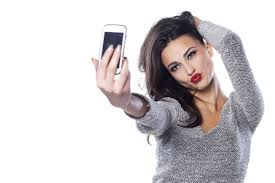 Image result for images of narcissistic woman on cell phone
