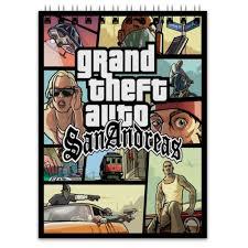Блокнот <b>Grand Theft</b> Auto San Andreas #444717 от Nalivaev