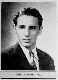 former n president fidel castro dead at age miami herald the caption describing fidel castro in his 1945 high school yearbook reads distinguished student and