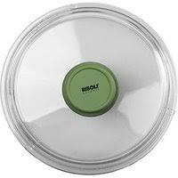 «<b>Крышка</b> для сковороды «Д. Грин» <b>D</b>=<b>28см</b>; прозр. , зелен. (Risoli ...