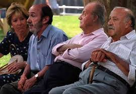 Resultado de imagen de chistes sobre jubilados españoles