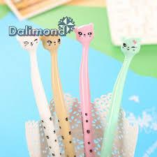 <b>4 pcs Cute</b> & <b>Lovely</b> 0.5mm Gel Pen Ballpoint Pens School Office ...