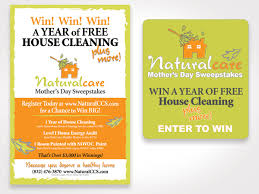 naturalcare cleaning service mother s day campaign