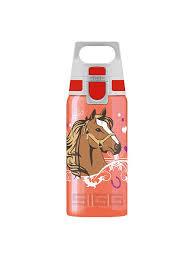 <b>Бутылка</b> для воды Sigg Viva One <b>Horses</b>, красная, <b>0</b>,<b>5L</b> Sigg ...