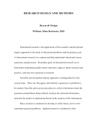 good thesis methodology    What Are Acceptable Dissertation Research