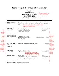 high school resume objective resume badak objective resume examples for high school student