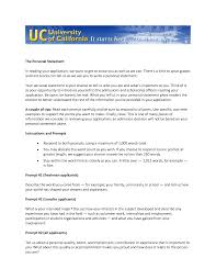 career aspiration statement examples like success uc personal statement prompt 2 examples