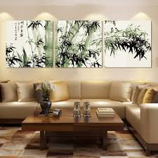 living room ideas for cheap:  ideas wrought iron wall living room fashion large canvas art cheap modern abstract bamboo canvas wall art landscape oil