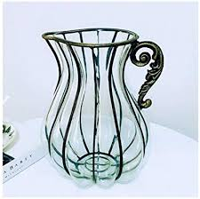 Orange-day Vases Creative vase Tabletop Color ... - Amazon.com