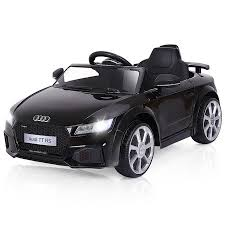 Gymax 12V Audi TT RS <b>Electric Kids Ride On</b> Car Licensed Remote ...