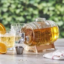 Лимонадник (диспенсер) <b>Kilner 1 литр</b> на опдставке