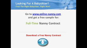 sample nanny contract contracts for sample nanny contract contracts for