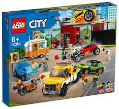 <b>Конструктор LEGO</b> City 60258 Тюнинг-<b>мастерская</b> — купить по ...