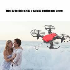 VicTsing <b>Mini</b> D2 <b>Foldable</b> 2.4G 6-<b>Axis RC</b> Quadcopter Drone HD ...