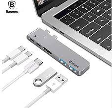 <b>Baseus</b> USB <b>HUB</b> Dual <b>USB C HUB</b> to <b>USB 3.0</b> HDMI <b>Type</b>-<b>C</b> ...