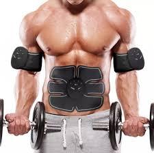 Wireless Intelligent Muscle <b>Stimulator Slimming Patch</b> Body Shaper ...