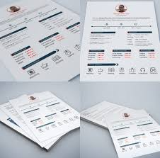 download free    best free resume   cv templates psd at    web and graphic designer resume free psd  print ready