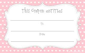 best photos of love gift certificate template printable gift coupon template