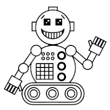 Small Picture 20 Cute Free Printable Robot Coloring Pages Online