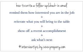 how to write a follow up email after an interview the prepary remind them that you re extremely interested in the job