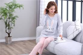 <b>Breastfeeding pajama breast feeding</b> nightwear maternity nursing ...