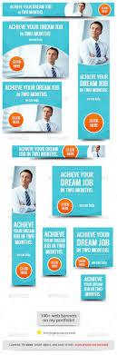 best job web banner design by admiral adictus graphicriver best job web banner design banners ads web elements