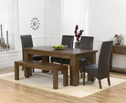 kitchen table bench intended