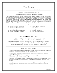 resume cover letter sample hospitality cipanewsletter sample resume canadian style cv format office boy hospitality