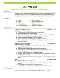 free resumes licious resume for customer service reprsentative likeable resume for customer service representative customer services representative resume