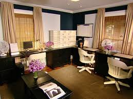 the inspiring comfy spare bedroom office ideas awesome home office design with dark l shaped chic lshaped office desk