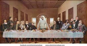 Atheist Meme Base » last supper via Relatably.com