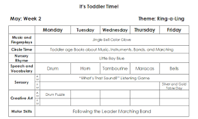 Toddler lesson plan overview | Teach Preschool