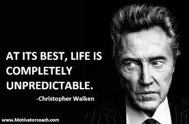 Quotes by Christopher Walken @ Like Success via Relatably.com