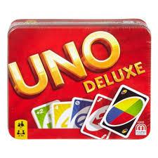 <b>Карточная игра MATTEL</b> UNO Делюкс — купить в интернет ...