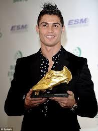 Hasil gambar untuk ronaldo sepatu emas gaza