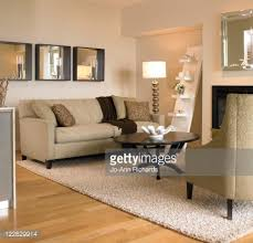beige living room with black coffee table victoria british columbia stock photo black beige living room
