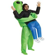 <b>Inflatable</b> Monster <b>Costume Scary</b> Green <b>Alien</b> Cosplay <b>Costume</b> ...