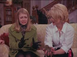 Image result for sabrina the teenage witch first kiss