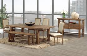 Hickory Dining Room Table Dining Table Bench Chairs Leahlyn Traditional Counter Height
