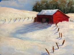 Try It! Create a Country <b>Snow Landscape in</b> Pastel w/ Janis Graves ...