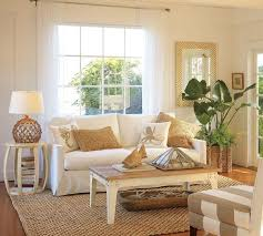 furniture fancy beach style living rooms using farmhouse coffee table above sisal area rugs nearby white beachy style furniture