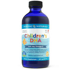Nordic Naturals Children's DHA Liquid - <b>Omega</b>-3 DHA Fish Oil For ...