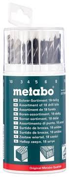 <b>Набор сверл Metabo</b> 627190000, 18 шт. — купить по выгодной ...