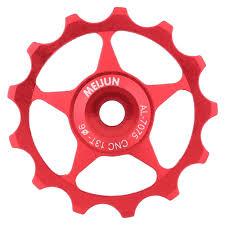 <b>1pcs</b> Durable <b>Aluminium Alloy Bicycle</b> Jockey Wheel Pulley Bearing ...